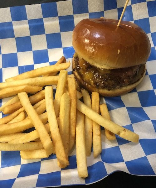 *Vermont Maple Burger