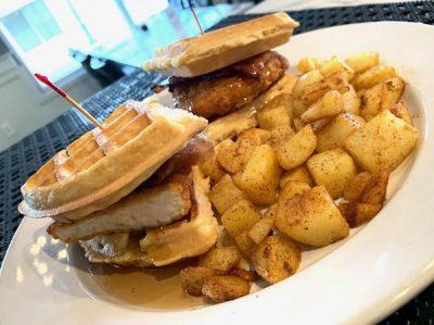 chicken-waffle-slider